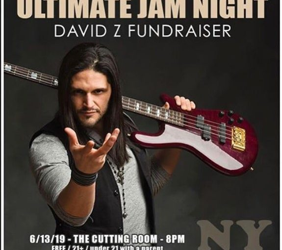 Ultimate Jam Night NYC, David Z Fund Benefit, The Cutting Room 6/13/19