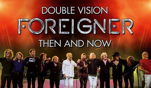 Foreigner – Double Vision: Then & Now Mohegan Sun Arena, Uncasville, CT 12/1/18