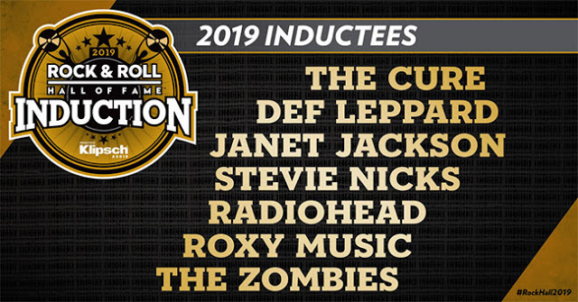 Rock & Roll Hall of Fame Class of 2019